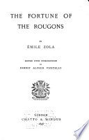 Novels  The fortune of the Rougons  1898