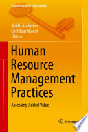 Human Resource Management Practices Book