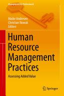 Human Resource Management Practices