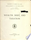 Wealth, debt, and taxation