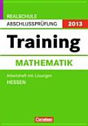 Abschlußprüfung Mathematik Training Hessen Realschule 2011