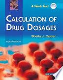 Drug Calculations Online for Ogden Calculation of Drug Dosages