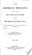 The American Decisions Book