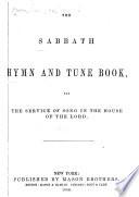 The Sabbath School Hymn And Tune Book