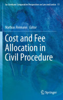 Cost and Fee Allocation in Civil Procedure