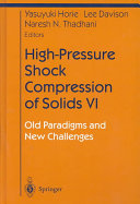 High-Pressure Shock Compression of Solids VI ebook