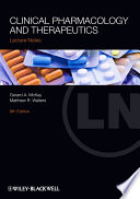 Clinical Pharmacology And Therapeutics Book PDF