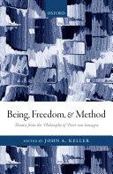 Being, Freedom, and Method Pdf/ePub eBook