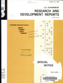 U.S. Government Research & Development Reports