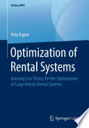 Optimization of Rental Systems