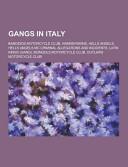 Gangs in Italy Book