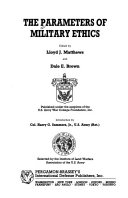 The Parameters of Military Ethics