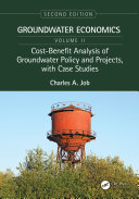 Cost-Benefit Analysis of Groundwater Policy and Projects, with Case Studies Pdf/ePub eBook
