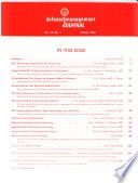 Defense Management Journal Book