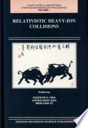 Relativistic Heavy-ion Collisions