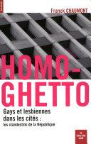 Pdf Homo-ghetto Telecharger