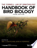 """Handbook of Bird Biology"" by Irby J. Lovette, John W. Fitzpatrick"