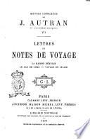 Oeuvres complètes de J. Autran