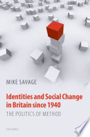 Identities And Social Change In Britain Since 1940 PDF