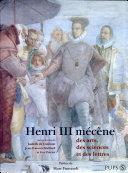 Henri III mécène