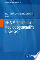 Rna Metabolism In Neurodegenerative Diseases Book PDF