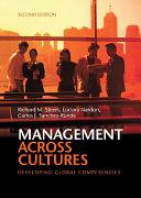 Management across Cultures