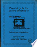 Proceedings for the Second Workshop on Smart Power Power Integrated Circuits  Technology and Applications