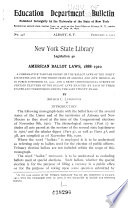American Ballot Laws, 1888-1910