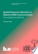 Spatial Resource Allocation in Massive MIMO Communications