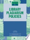 Library Plagiarism Policies Book