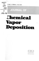 Journal of Chemical Vapor Deposition - Band 2 - Seite 3