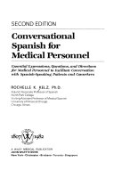 Conversational Spanish for medical personnel: essential