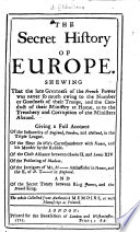 The Secret History of Europe