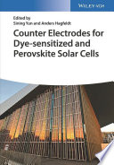 Counter Electrodes for Dye Sensitized and Perovskite Solar Cells