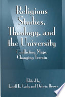 Religious Studies Theology And The University
