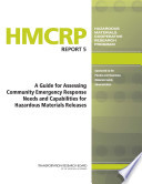 A Guide For Assessing Community Emergency Response Needs And Capabilities For Hazardous Materials Releases