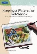 Keeping a Watercolor SketchBook