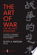 The Art of War for Security Managers