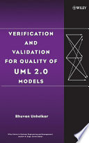 Verification and Validation for Quality of UML 2 0 Models