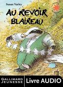 Au revoir Blaireau (un album à écouter) Pdf/ePub eBook