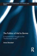 The Politics of Aid to Burma Pdf/ePub eBook