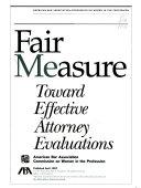 Fair Measure