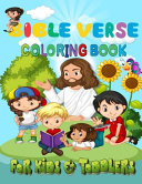 Bible Verse Coloring Book For Kids And Toddlers