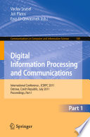 Digital Information Processing and Communications Book