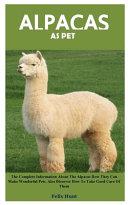 Alpacas as Pet Book