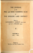 The Journal of the Fell and Rock Climbing Club of the English Lake District