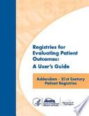 21st Century Patient Registries