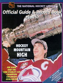 NHL Official Guide and Record Book  1996 97