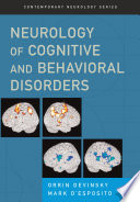 Neurology of Cognitive and Behavioral Disorders Book