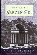 Theory of Garden Art